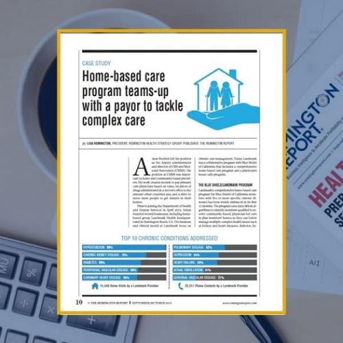 Home-Based Care Program Teams-Up With a Payor to Tackle Complex Care