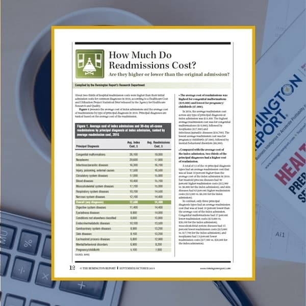 How Much Do Readmissions Cost?
