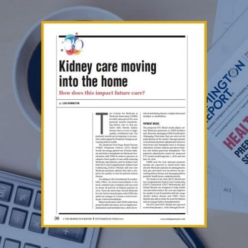 Kidney Care Moving Into the Home