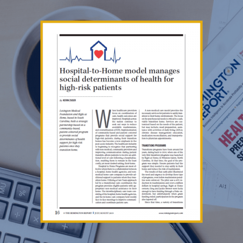 Hospital-to-Home Model Manages Social Determinants of Health for High-Risk Patients