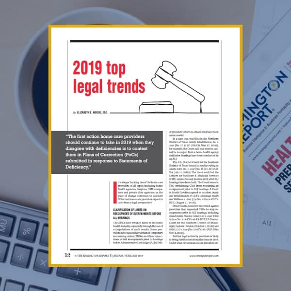 2019 Top Legal Trends