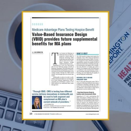 Medicare Advantage Plans Testing Hospice Benefit