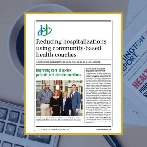 Reducing Hospitalizations Using Community-Based Health Coaches