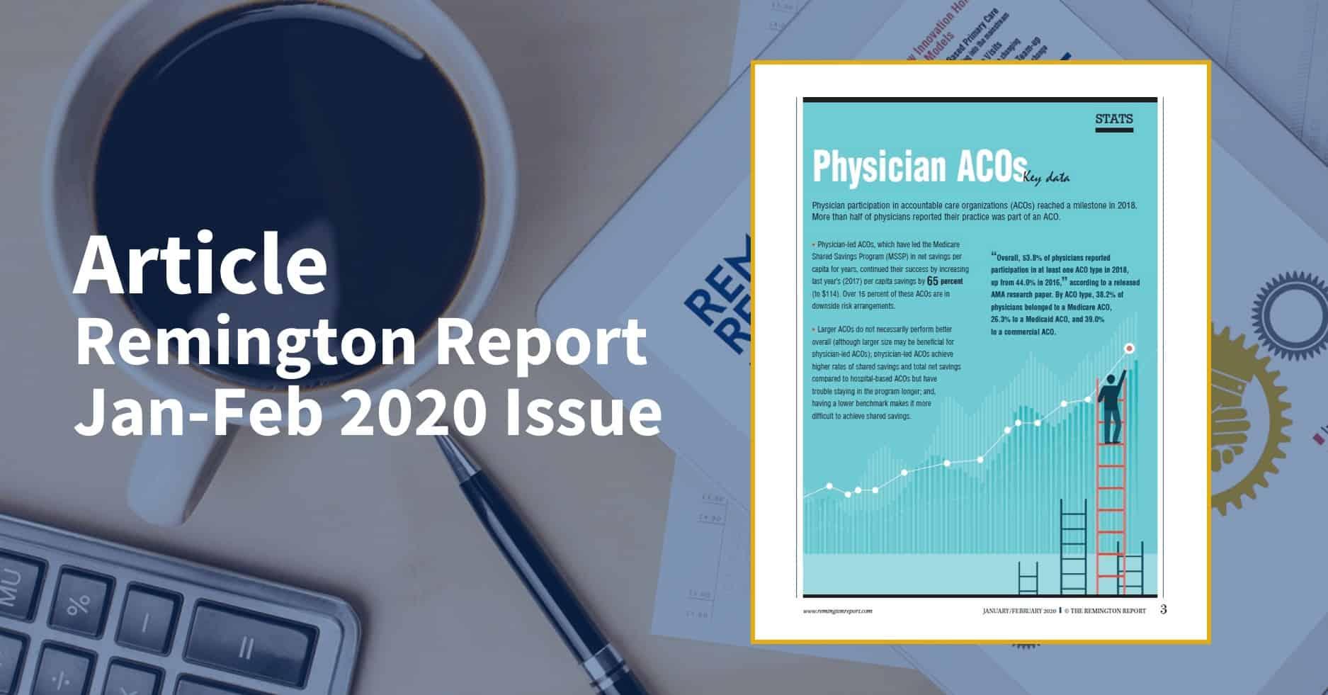 Physician ACOs Key Data