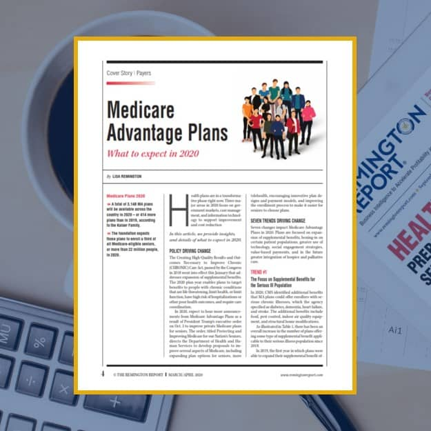 Medicare Advantage Plans: What to Expect in 2020