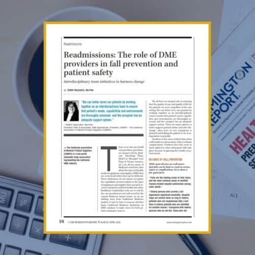 Readmissions: The Role of DME Providers in Fall Prevention and Patient Safety
